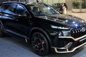Hyundai SantaFe N Performance Kit 2021 bất ngờ lộ diện