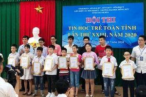 170 thí sinh dự Chung kết Hội thi tin học trẻ tỉnh Thanh Hóa lần thứ 23