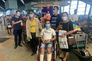 310 công dân Việt Nam từ Malaysia về nước an toàn