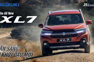 Suzuki XL7 hoàn toàn mới: SUV 7 chỗ mạnh mẽ, sẵn sàng cho khởi đầu mới