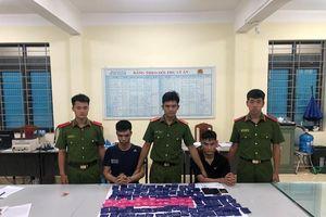 Triệt xóa đường dây ma túy Sơn La về Hà Nam, thu hơn 23.000 viên ma túy