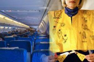 Xé áo phao và trốn nộp phạt, một nữ hành khách bị cấm bay 12 tháng
