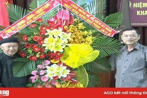 Tỉnh ủy, HĐND, UBND, UBMTTQVN tỉnh An Giang chúc mừng đại lễ 18-5 Phật giáo Hòa Hảo