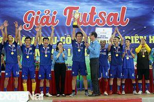 Chung kết và trao giải Futsal nam trong công nhân lao động