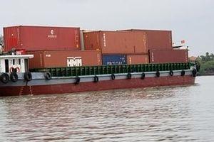Tăng cường vận chuyển hàng hóa bằng đường sông để giảm tải