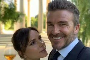 David Beckham thổ lộ tình cảm với vợ nhân kỷ niệm 21 năm ngày cưới