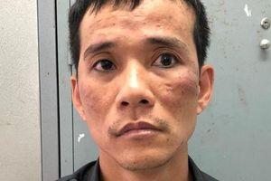 Về thăm vợ con sau khi cướp giật và đâm bị thương 1 phụ nữ, gã đàn ông bị 'tóm gọn'