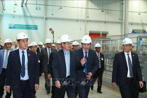 Thủ tướng Lào thăm 'điểm sáng' thu hút đầu tư của Việt Nam