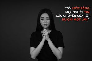 Hoa hậu Khánh Vân kêu gọi thay đổi nhận thức về nạn quấy rối tình dục