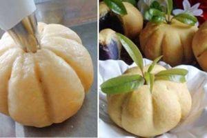 Cách làm bánh bao bí đỏ mịn, ngon thơm phức