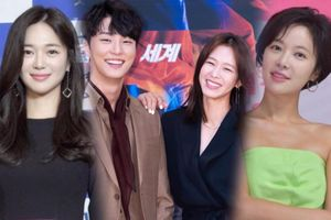 Họp báo 3 drama Hàn Quốc: Tiểu Son Ye Jin - Lee Elijah xinh đẹp, Hwang Jung Eum diện đồ kém sang xuống sắc