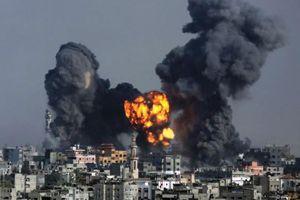 Israel không kích dải Gaza nhằm đáp trả các vụ tấn công tên lửa