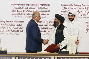 Mỹ lo cứu vãn Thỏa thuận Mỹ-Taliban trước thềm bầu cử tổng thống