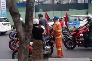 CLB mô tô quận 5 liên lạc với gia đình người bị tai nạn để xin lỗi