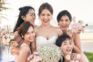 Dàn phù dâu toàn hot girl đời đầu trong lễ cưới Phanh Lee