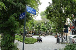 Vườn hoa công viên hiện đại với mô hình xe đạp công cộng đầu tiên của Thủ đô