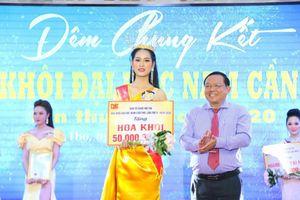Lung linh nhan sắc nữ sinh viên 'Hoa khôi ĐH Nam Cần Thơ 2020'