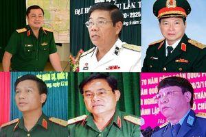 Điểm danh tướng lĩnh quân đội vừa được thăng chức