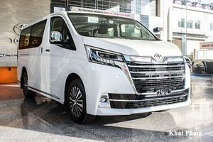 Cận cảnh Toyota Granvia 2020 hơn 3 tỷ đồng tại Hà Nội