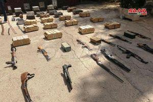 Quân đội Syria tịch thu lô vũ khí 'tuồn' cho khủng bố ở Idlib