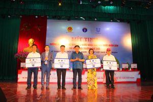 Vệ sinh sạch, môi trường xanh – Vì một Việt Nam khỏe mạnh