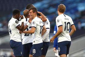 Tottenham thắng vất vả nhờ bàn phản lưới nhà của Everton
