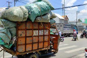 12 năm sau 'lệnh cấm', xe ba gác vẫn len lỏi khắp ngóc ngách Sài Gòn