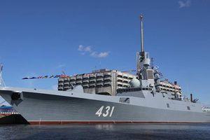 Tàu khu trục mới nhất tham gia phục vụ Hải quân Nga vào tháng 7