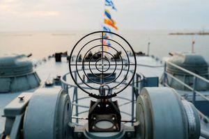 Tàu hộ tống đầu tiên của Nga được trang bị hệ thống phòng không Pantsyr đưa vào thử nghiệm