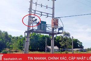 Vì sao 27 hộ dân ở Lộc Hà 6 năm dùng chung 1 công tơ điện?