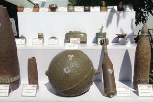 Khảo sát, rà phá bom chùm và các loại vật liệu nổ tại Quảng Bình