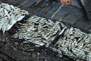 Cá nướng than hồng ngon khó quên của miền biển Cửa Lò