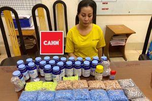Nữ quái tàng trữ hàng nghìn viên ma túy tổng hợp