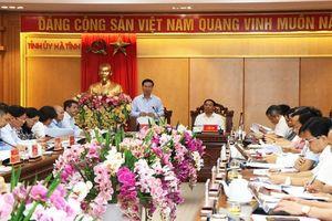 Hà Tĩnh: Phải làm sao Đại hội Đảng là ngày hội của toàn dân