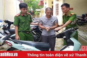 Công an huyện Quan Hóa bắt đối tượng trộm cắp chuyên nghiệp