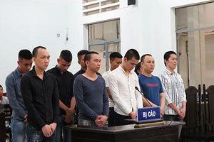 10 bị cáo vào tù vì ma túy