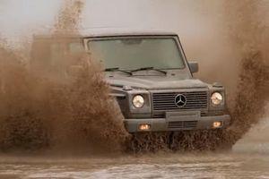 Video Mercedes G-Wagen 3 cửa thể hiện khả năng off-road vượt trội