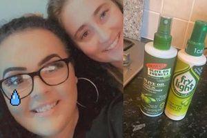 2 cô gái ăn dầu xả tóc cả tuần, tưởng dầu olive