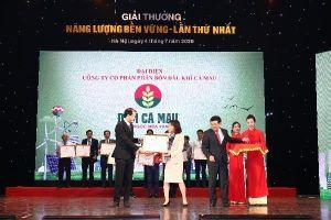 PVCFC được vinh danh giải thưởng Năng lượng Bền vững