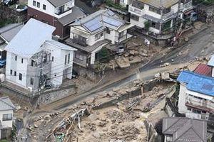 Điện thăm hỏi mưa lũ tại Nhật Bản