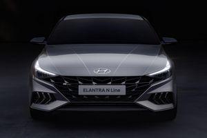 Hyundai Elantra N Line lộ thiết kế, cạnh tranh Mazda3 Turbo