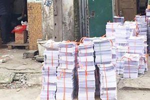 Thu giữ gần 6 tấn xuất bản phẩm vi phạm