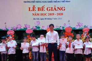 Trường Phổ thông Năng khiếu Thể dục thể thao Hà Nội bế giảng năm học 2019-2020