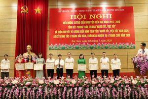 Huyện Sóc Sơn biểu dương 60 tập thể, 431 cá nhân điển hình trong các phong trào thi đua yêu nước