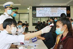 Quảng Bình: Đón và thực hiện cách ly 243 sinh viên Lào nhập cảnh