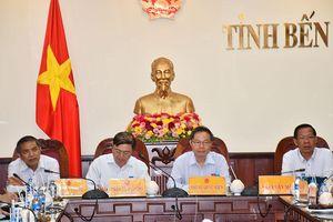 Đoàn công tác của Quốc hội làm việc tại Bến Tre