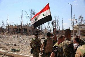 Quân đội Syria đập tan âm mưu xâm nhập, tiêu diệt khủng bố