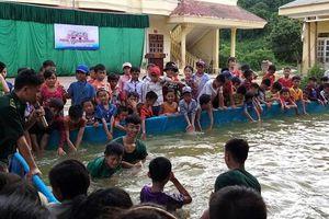 Tuyên truyền phòng, chống đuối nước cho học sinh khu vực biên giới