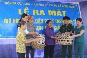 Đồng hành cùng phụ nữ nghèo trên tuyến ven biển Thái Bình