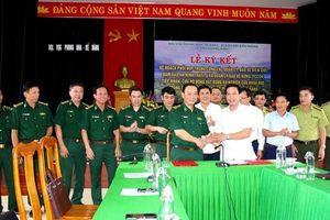 Phối hợp phòng chống cháy rừng Vườn Quốc gia Phong Nha - Kẻ Bàng